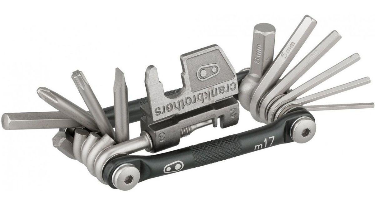 Canivete de ferramentas Crank Brothers Multi M17 - Ferramentas Multiuso - Prata