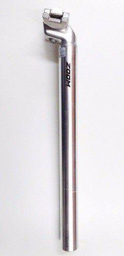 Canote Com Carrinho 27.2 x 350mm Alumínio - Polido