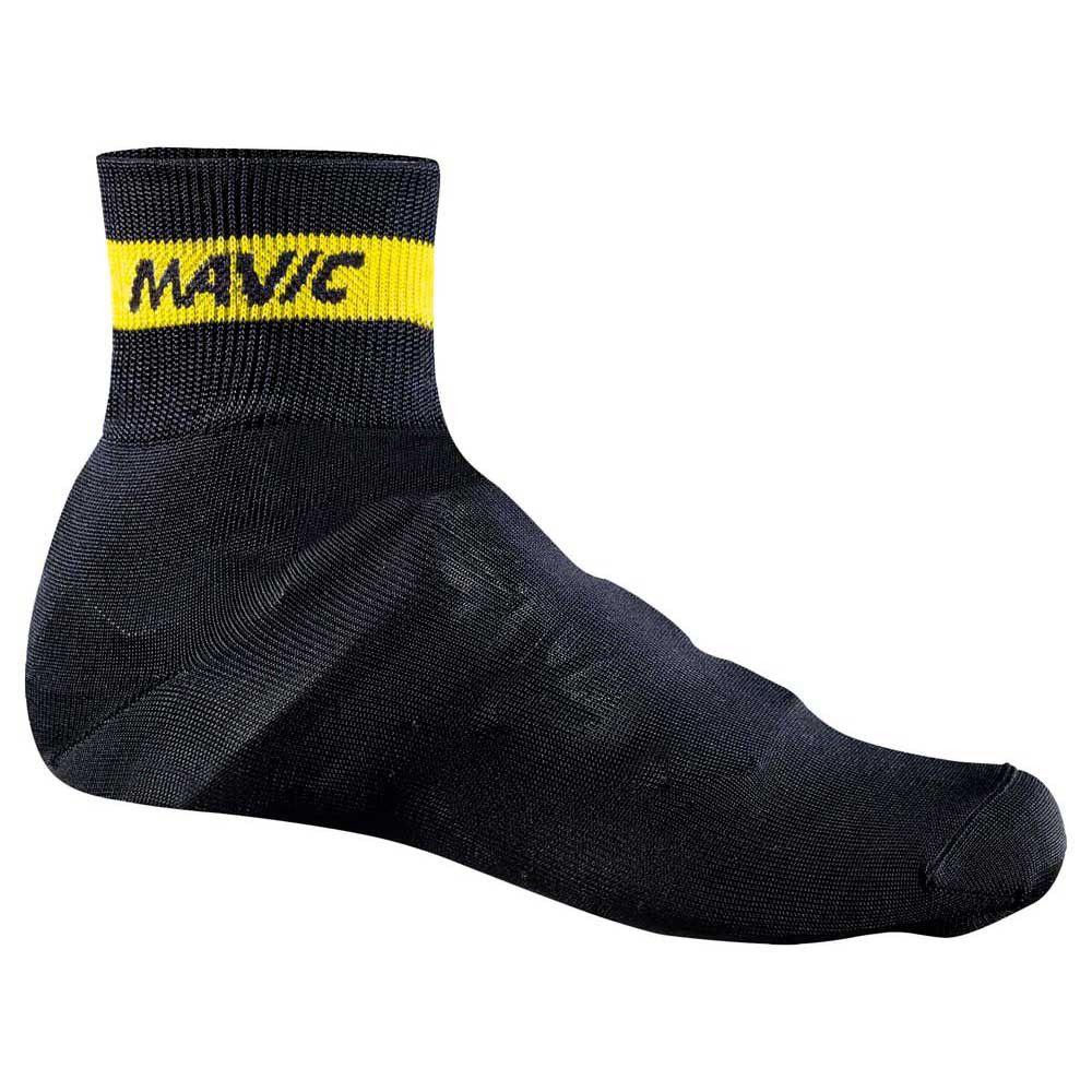 Capa Botinha Mavic P/ Sapatilha Knit Shoe Cover Preta