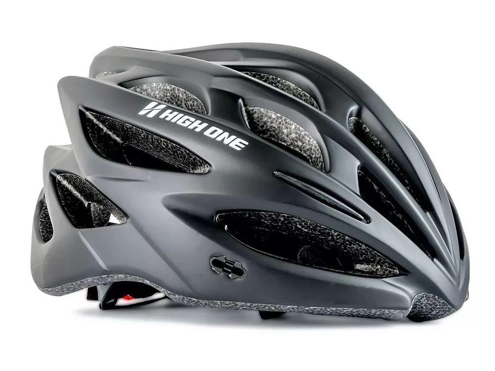 Capacete Bike MTB High One Inm Revo Preto - Tamanho M