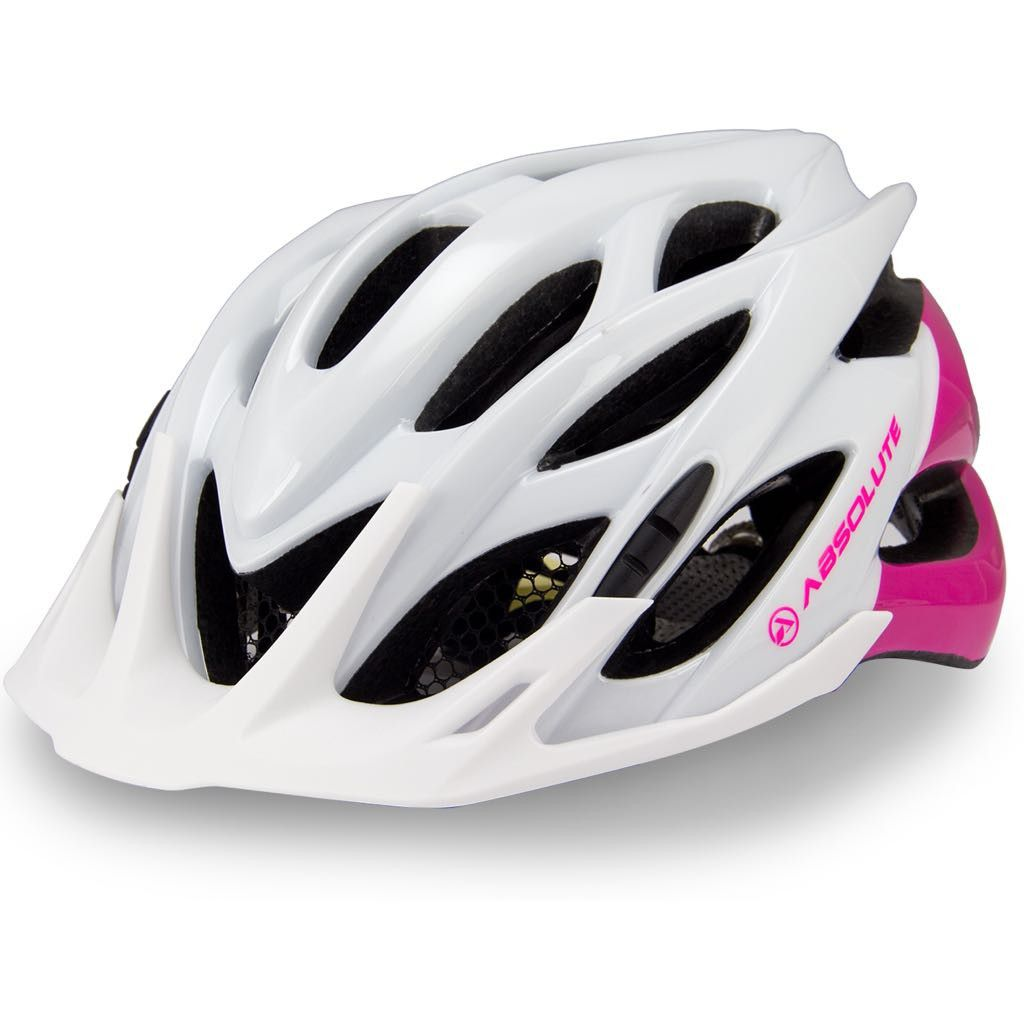 Capacete Ciclismo Absolute Feminino Mia c/ Led e Regulagem Mtb Speed