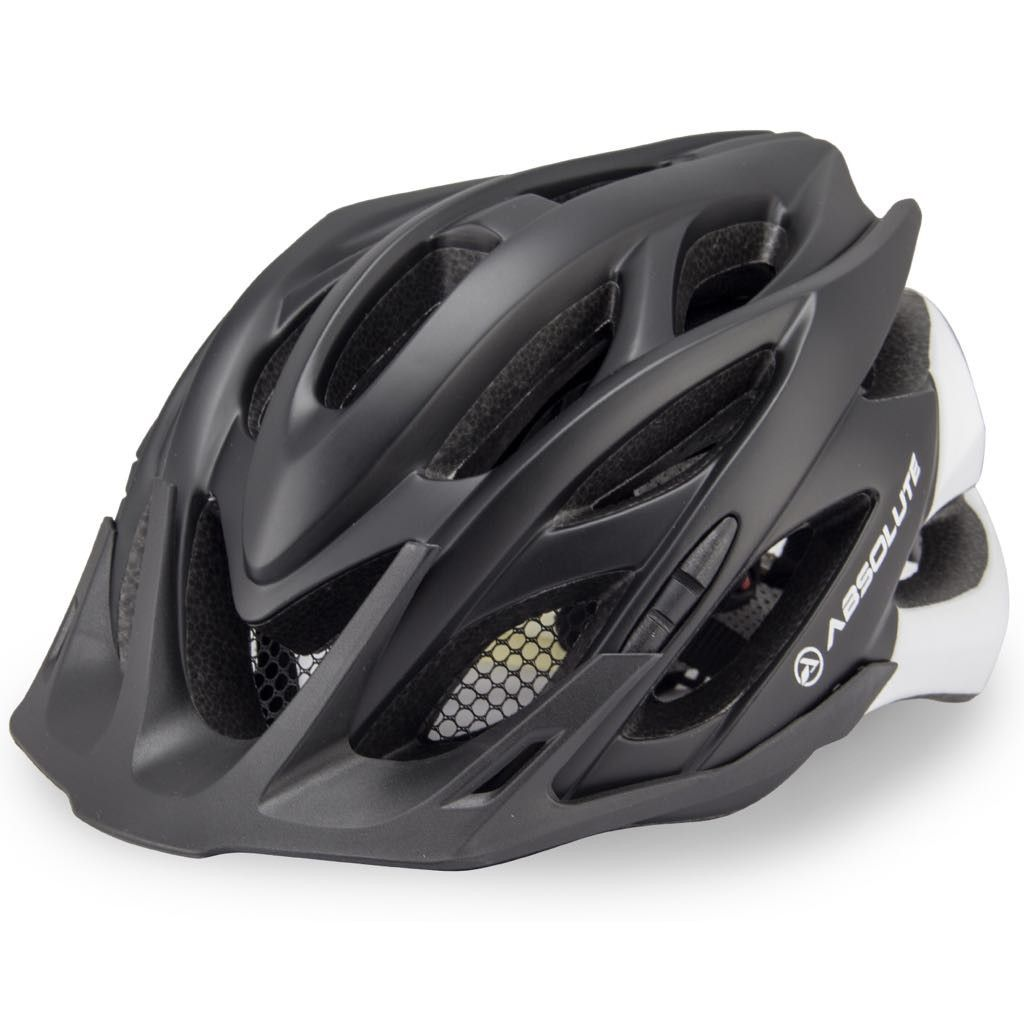 Capacete Ciclismo Absolute Wild com Led e Regulagem para Mtb Speed