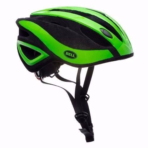 e015267c4 Capacete Ciclismo Bell Impel Verde Preto MTB Speed Bike - Loja Bike Session