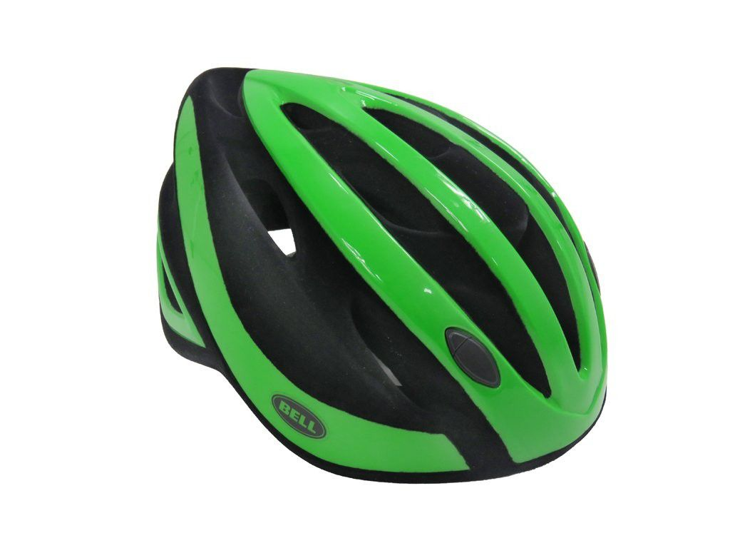 Capacete Ciclismo Bell Impel Verde/Preto MTB Speed Bike