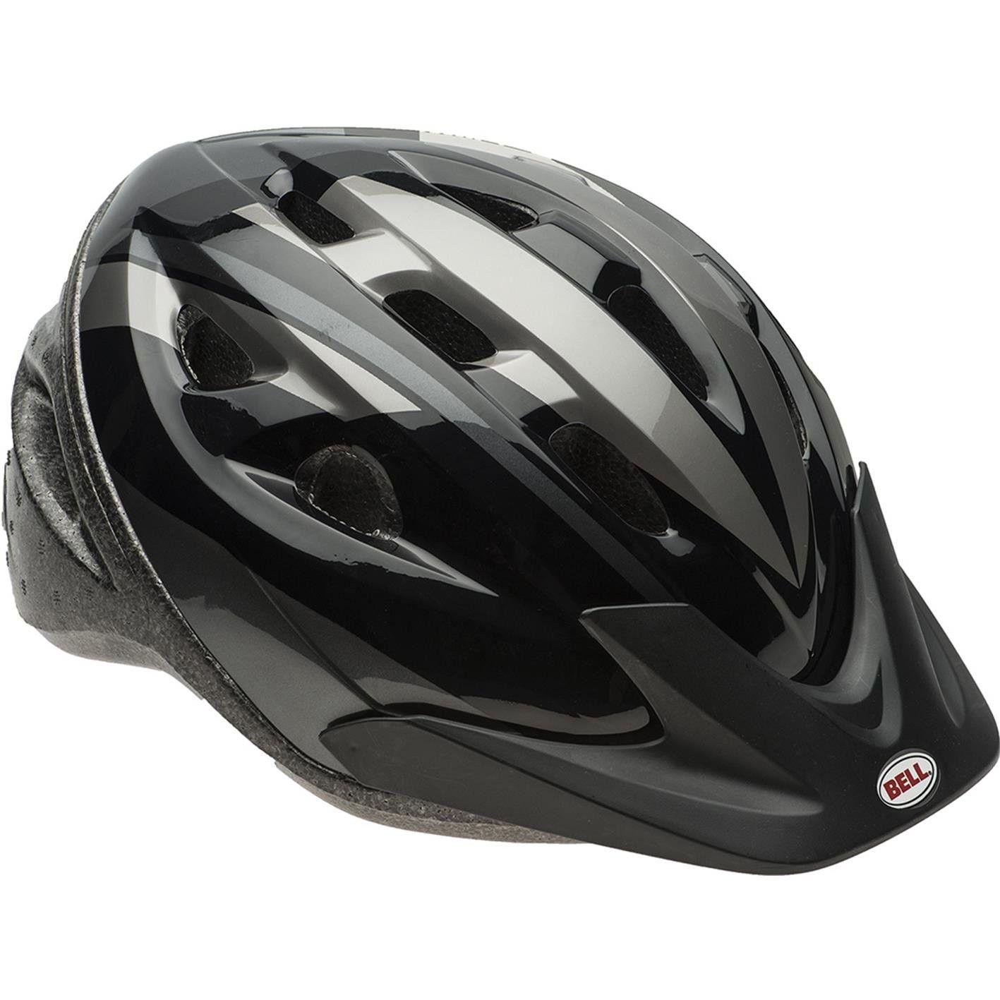 Capacete Ciclismo Bell Rig Preto/Titanio MTB Speed Bike