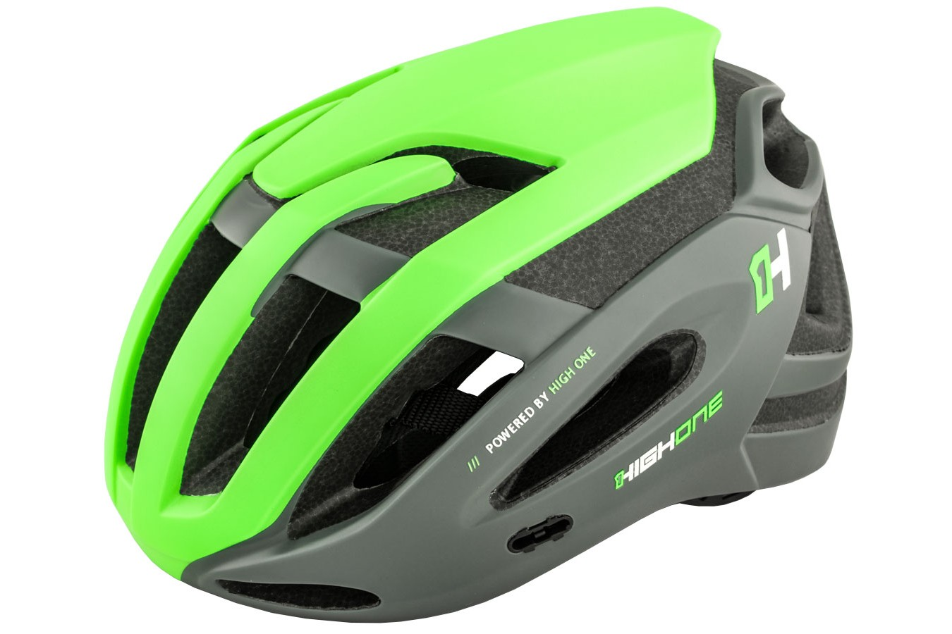 Capacete Ciclismo High One Ahead Verde - Tamanho M