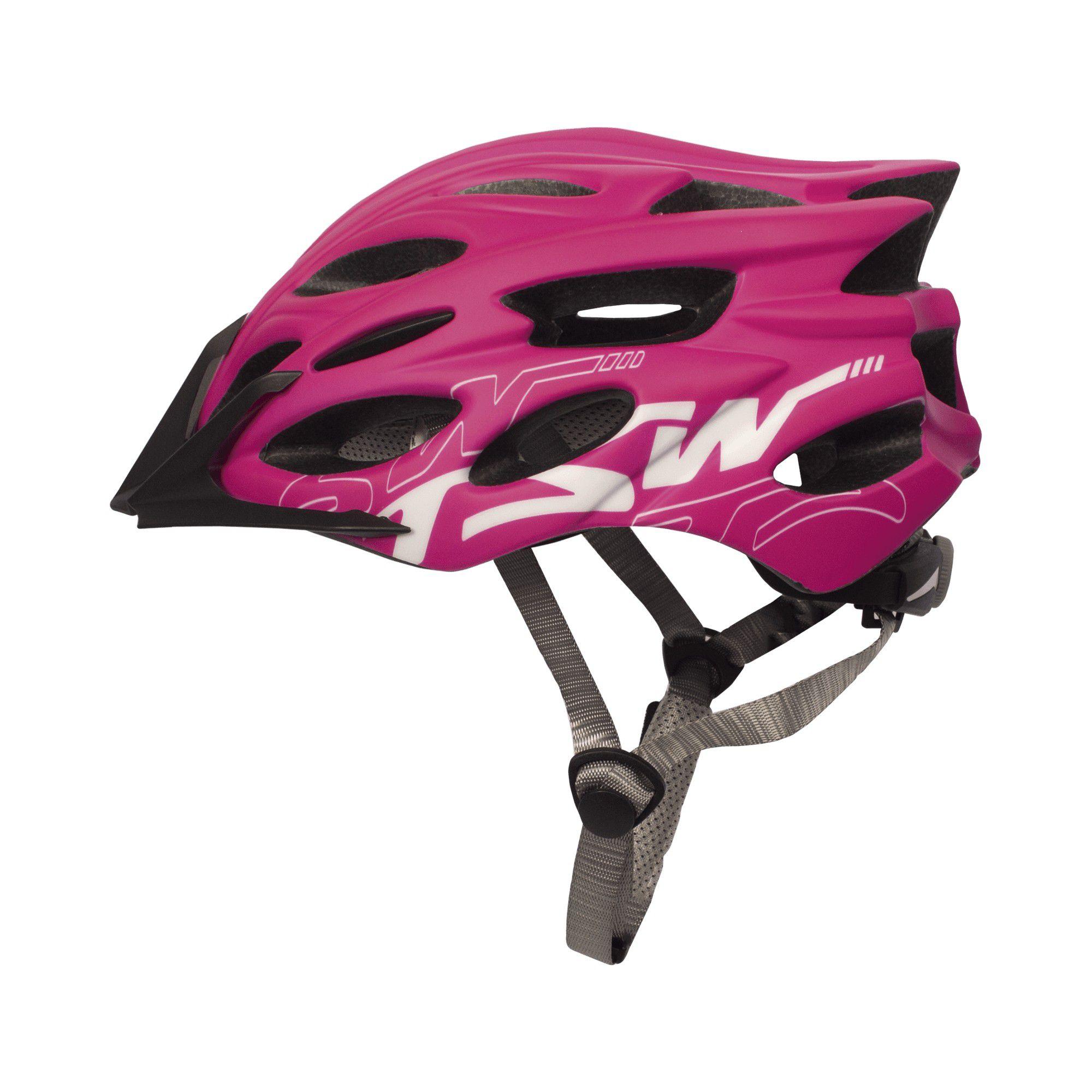 Capacete Ciclismo Feminino Tsw Elite MTB - Rosa