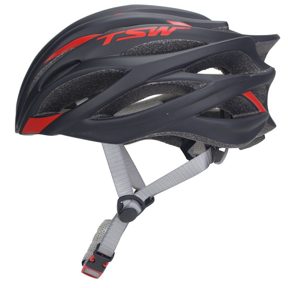 Capacete Ciclismo Tsw Speed Team S/ Viseira Bike MTB