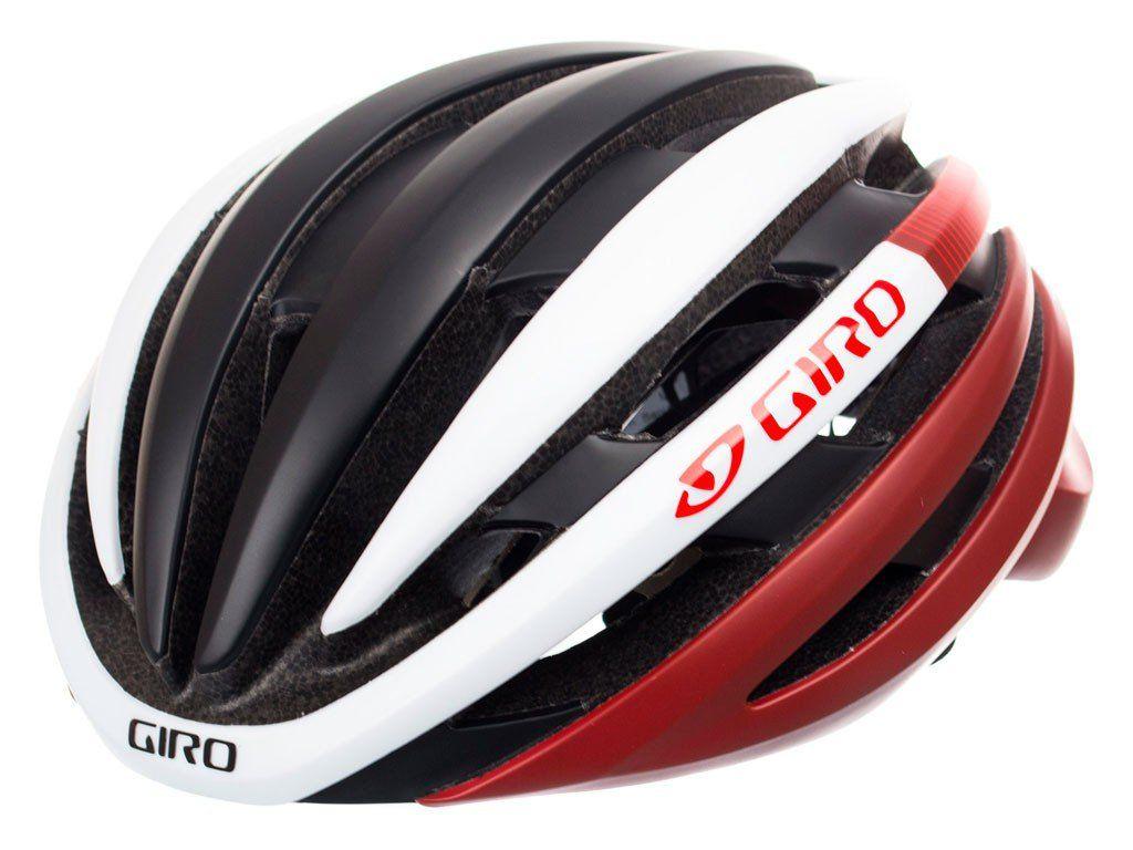 Capacete Giro Cinder  Mips - Preto, Vermelho e Branco