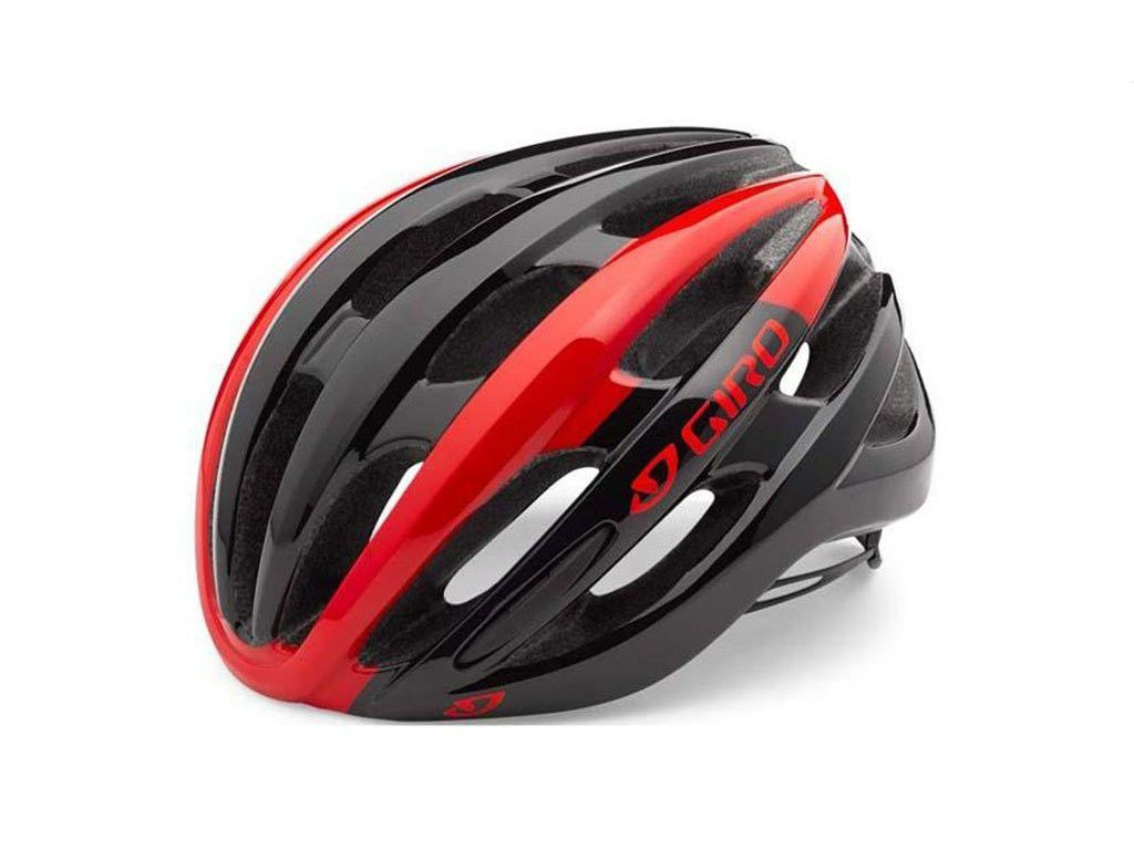 Capacete Giro Foray MTB Speed IN-Mold Preto/Verm