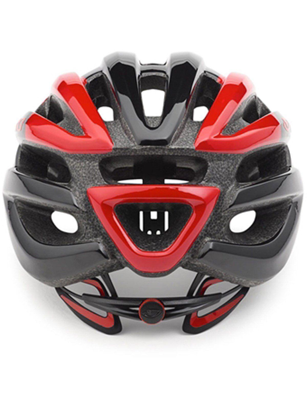 Capacete Giro Foray MTB Speed Preto Vermelho