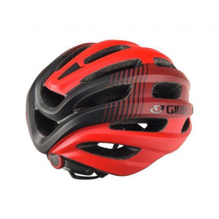 Capacete Giro Isode MTB Speed Ciclismo Vermelho e Preto