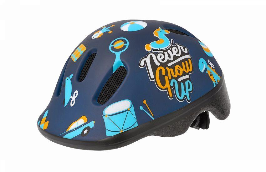 Capacete Ciclismo Infantil Polisport  Baby Toys Azul