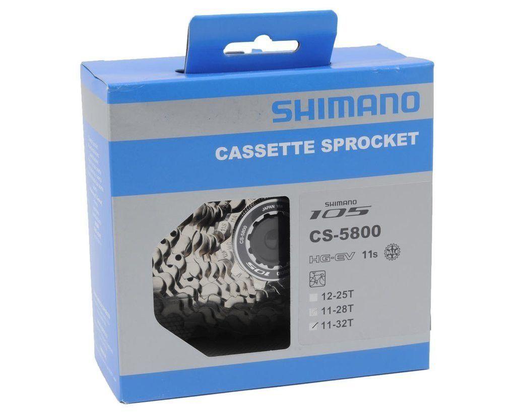 Cassete Shimano 105 CS-5800 11V 11/32D para Speed