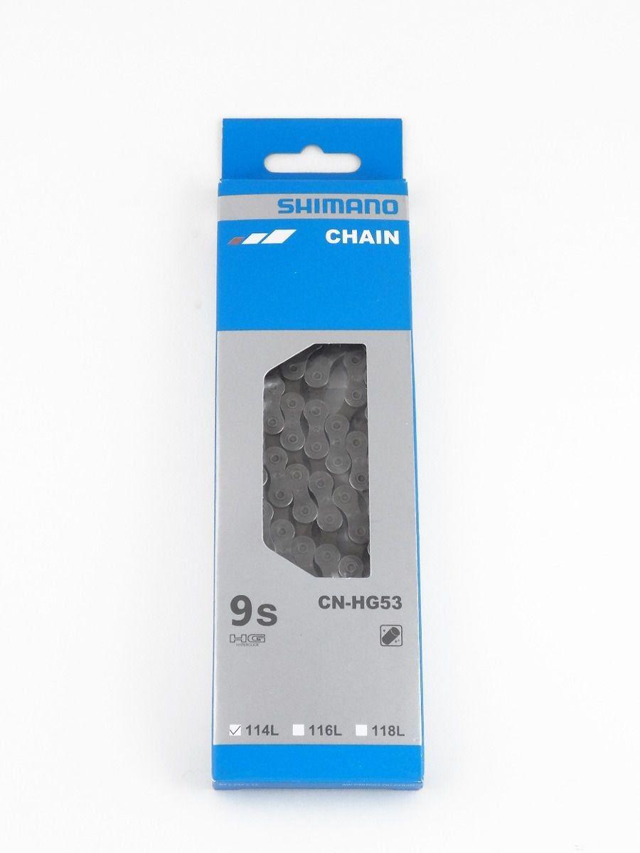 Cassete Shimano Alivio CS-HG400-9 11-34D 9v + Corrente Shimano HG53