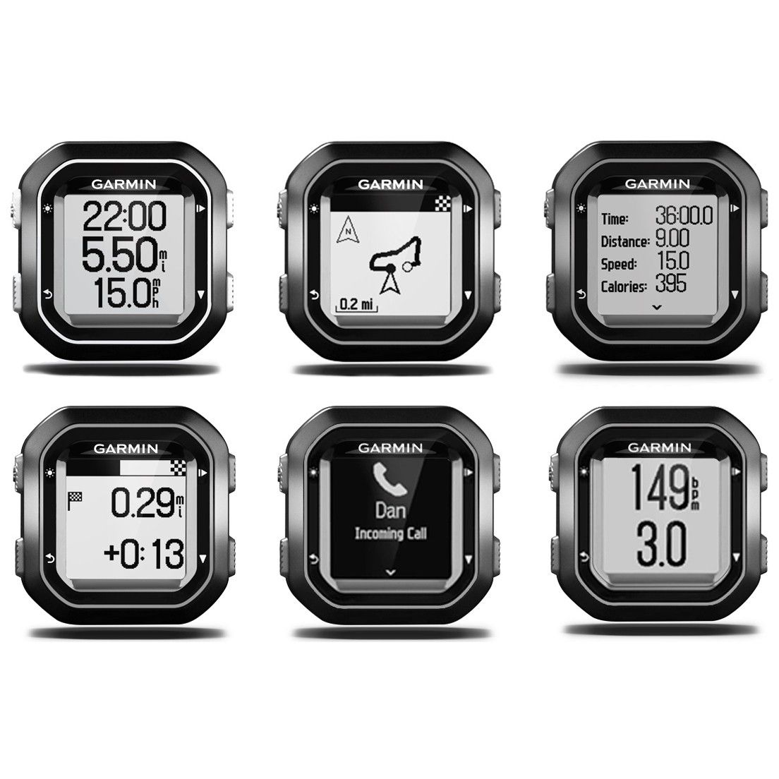 Ciclocomputador GPS Garmin Edge 25 com Cinta