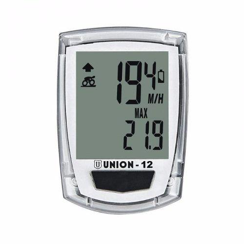 Velocímetro Digital Marwi Transparente Union -  12 Funções Com Fio