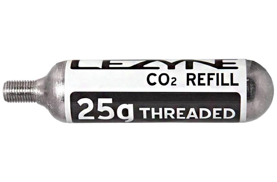 Cilindro Cartucho Refil Co2 Lezyne 25g Bike Tubeless