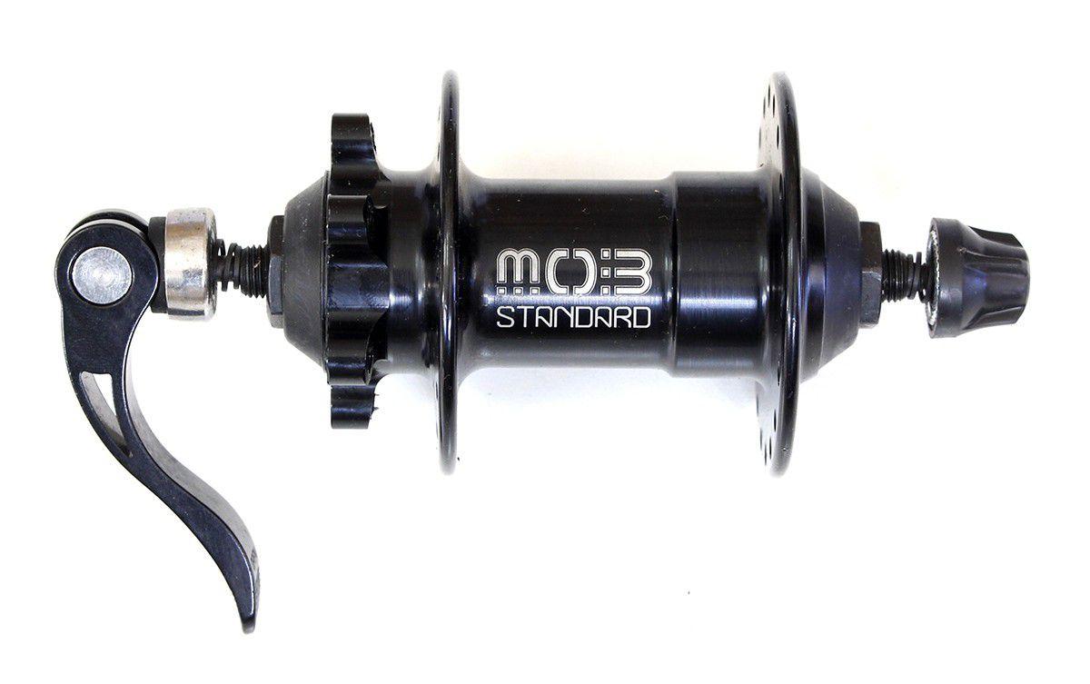 Cubo Dianteiro MOB 36F Freio a Disco MTB com blocagem