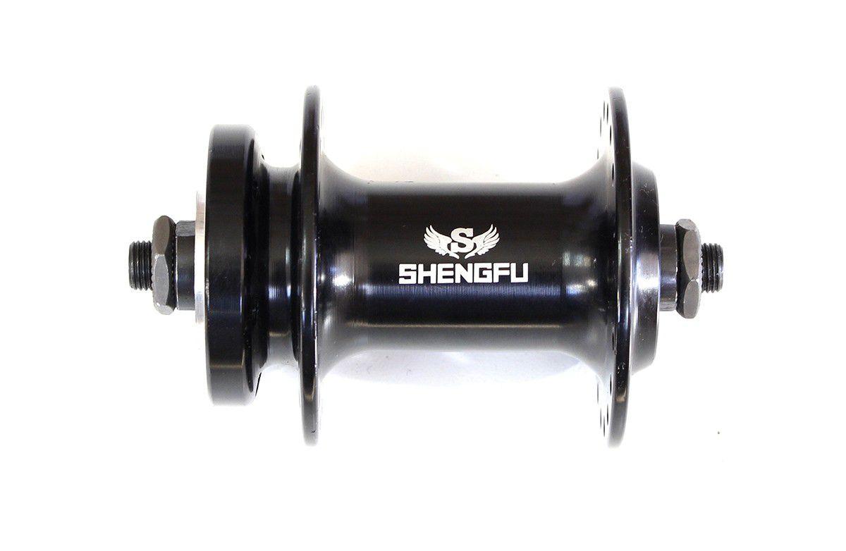 Cubo Dianteiro Shunfeng Freio a Disco MTB 9mm 36 furos