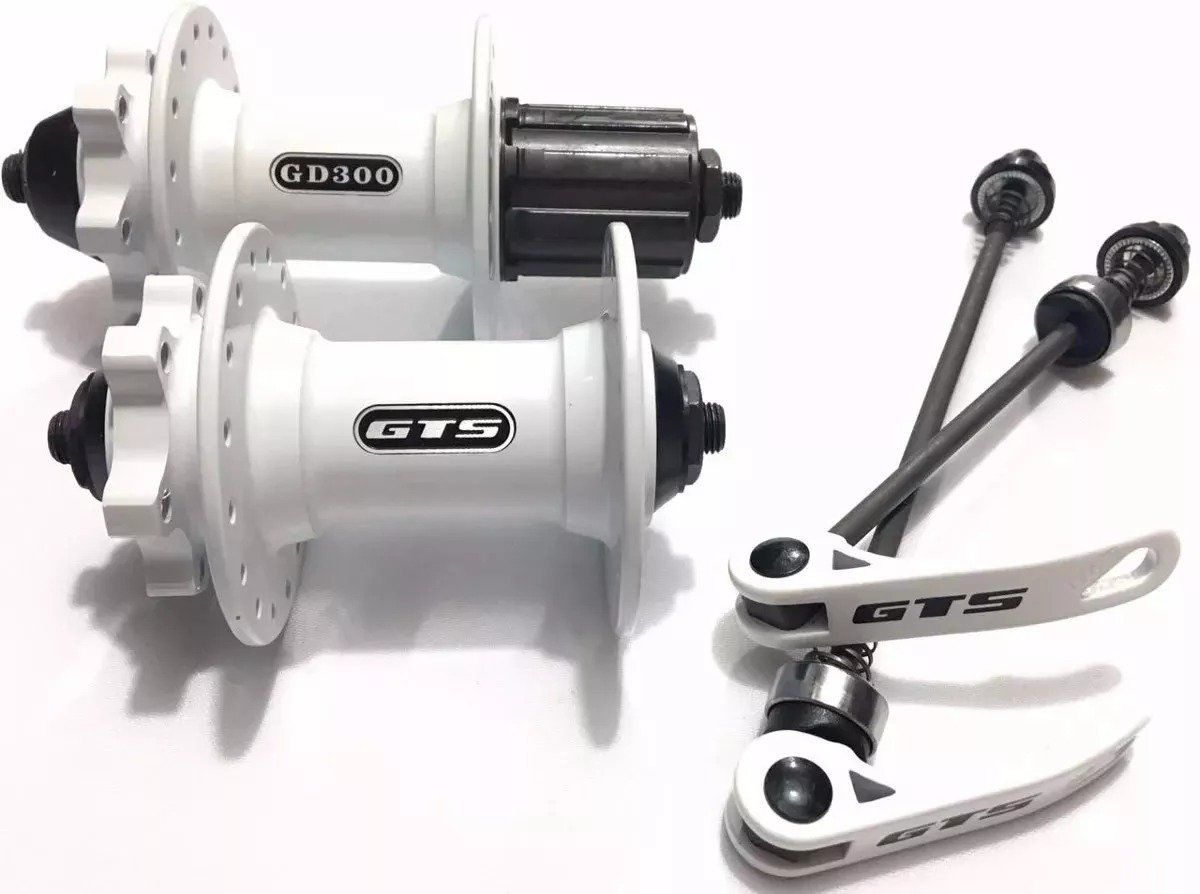 Cubo GTS GD-300 32 Furos 8/9/10/11 Velocidades - Branco