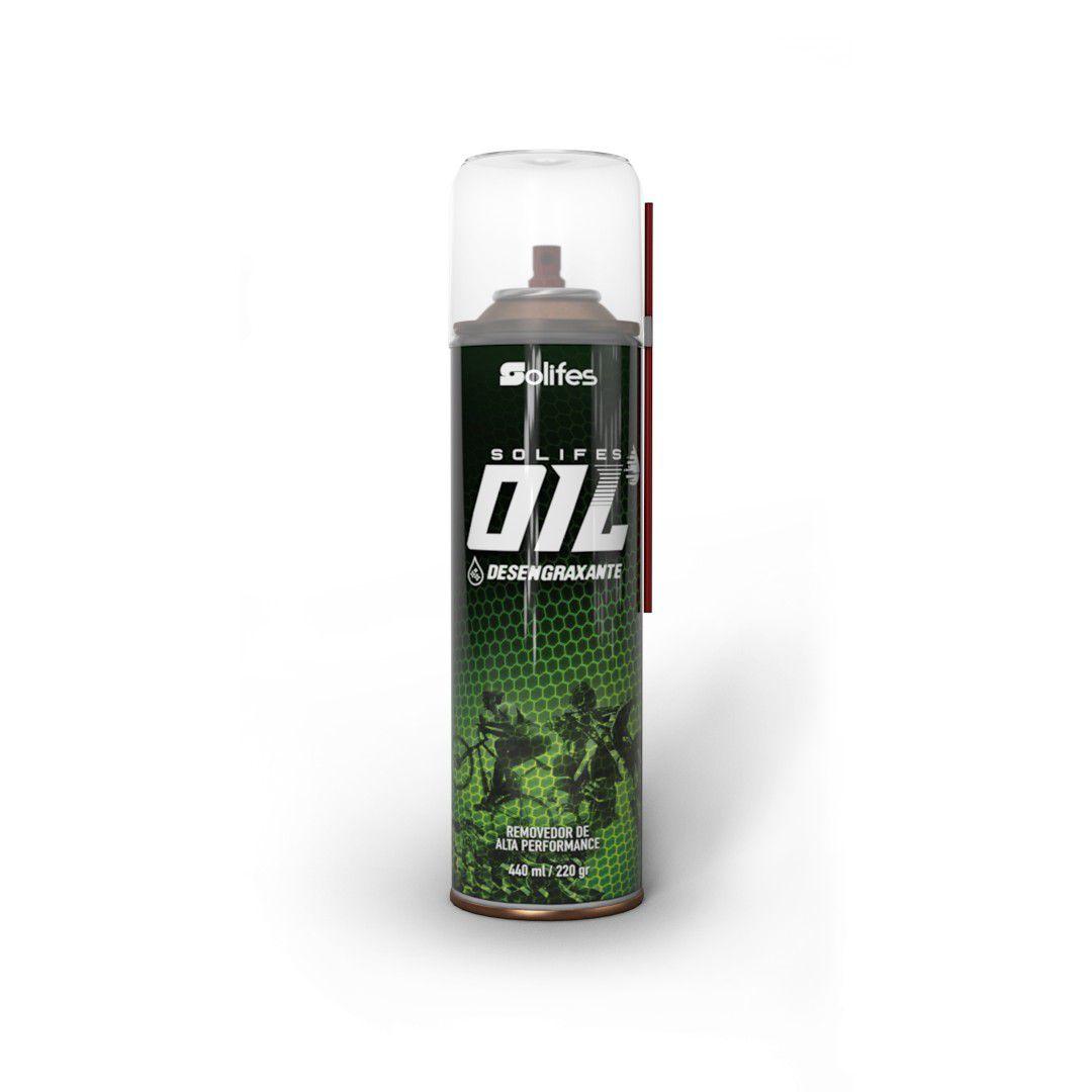 Desengraxante Solifes Oil Spray 440ml