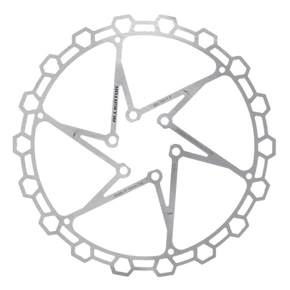 Disco Rotor Alligator Diamante 160mm 6 Furos