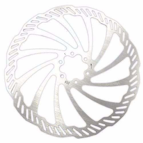 Disco rotor de Freio Tsw 203mm Inox 6 Furos