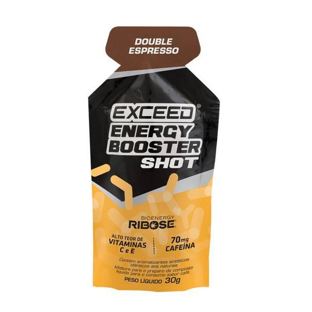 Exceed Energy Booster Shot - Double Espresso