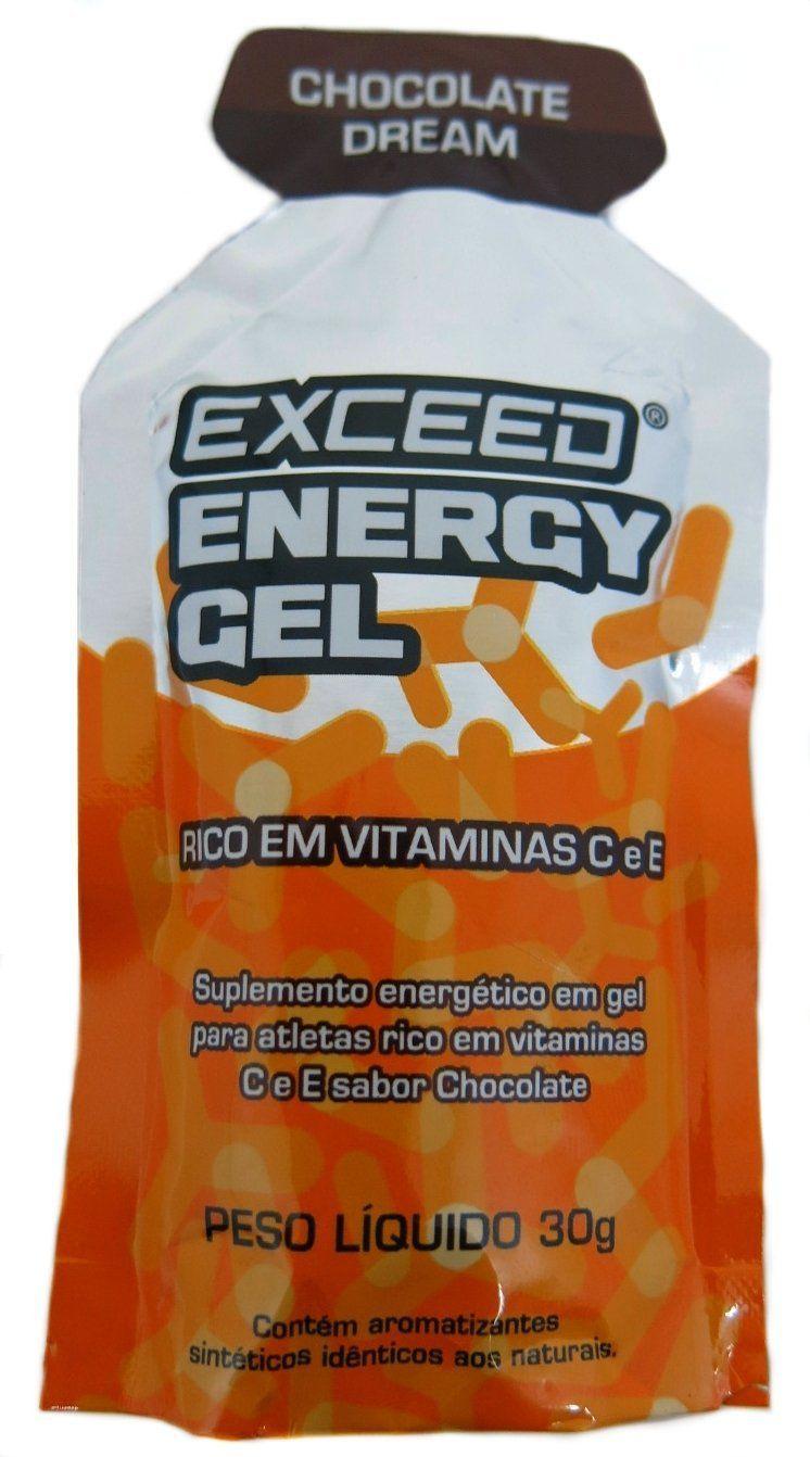 Exceed Energy Gel - Chocolate Dream