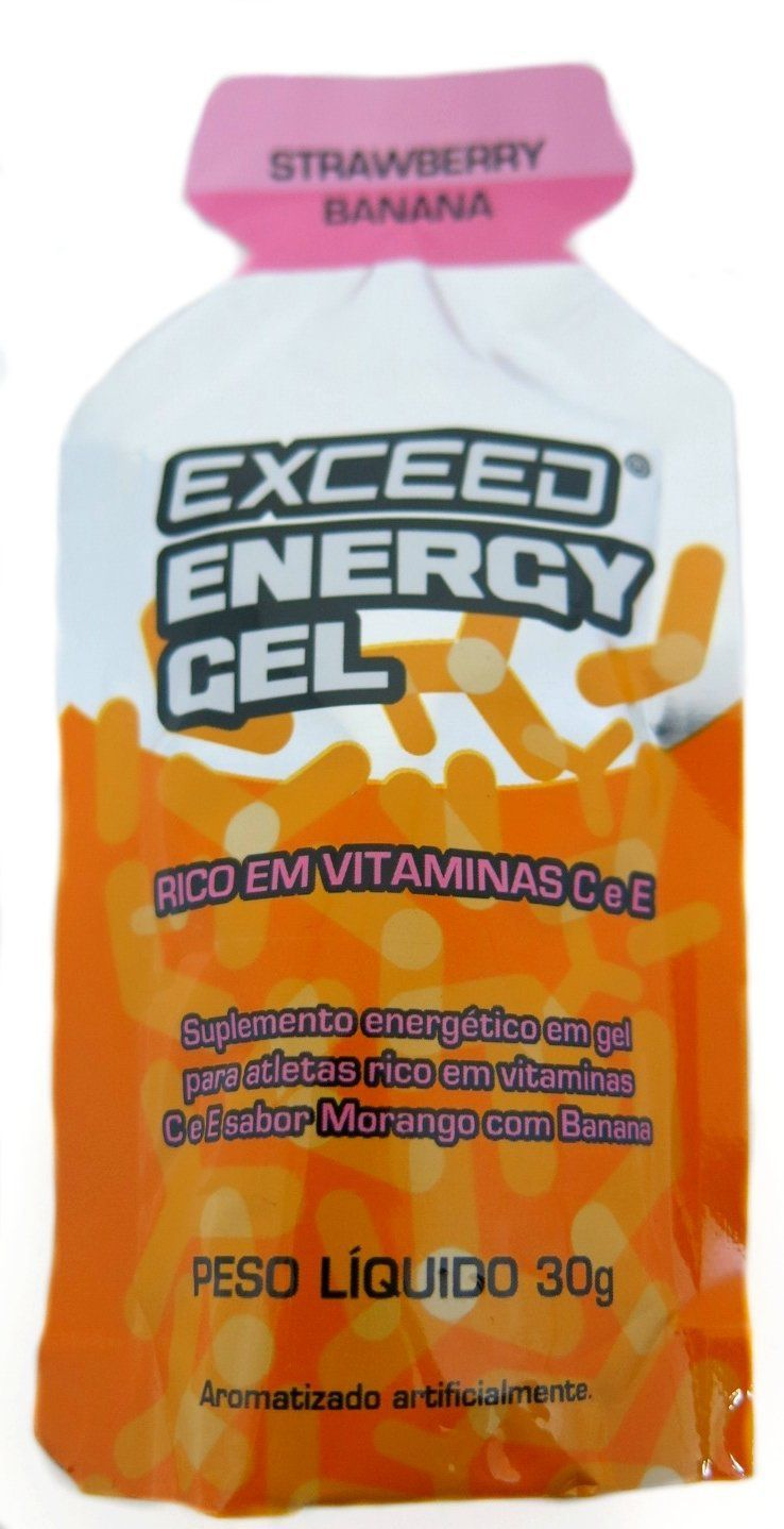 Exceed Energy Gel - Strawberry Banana
