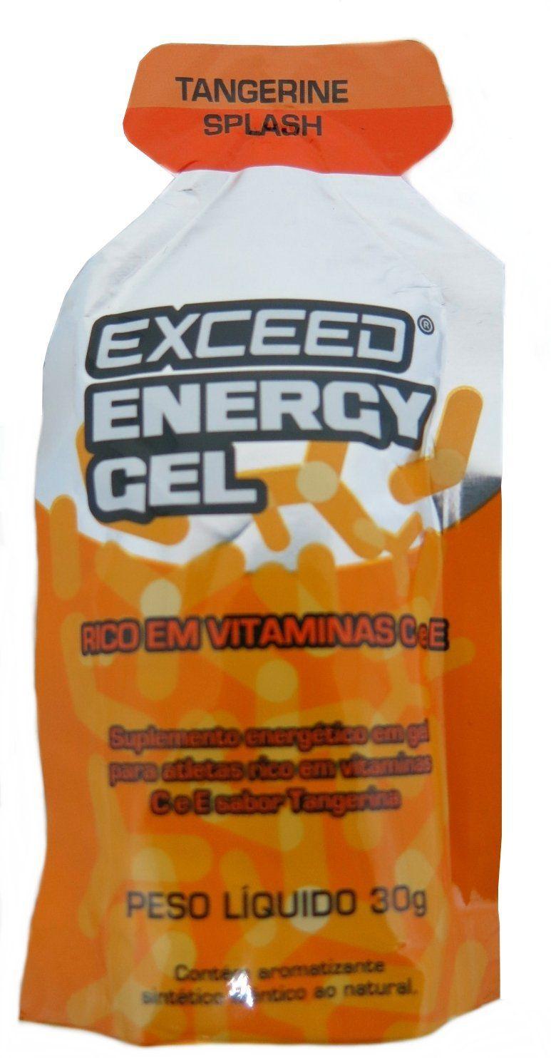Exceed Energy Gel - Tangerina Splash