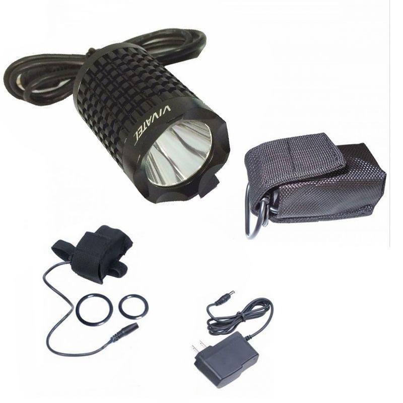 Farol Lanterna Vivatec (vicini) 1000 Lumens Com Bateria