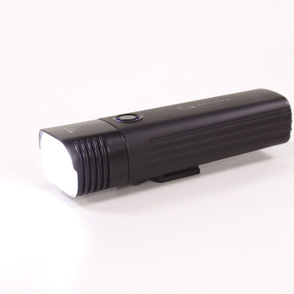 Farol para bicicleta Serfas E-Lume 650 lumens USB Led