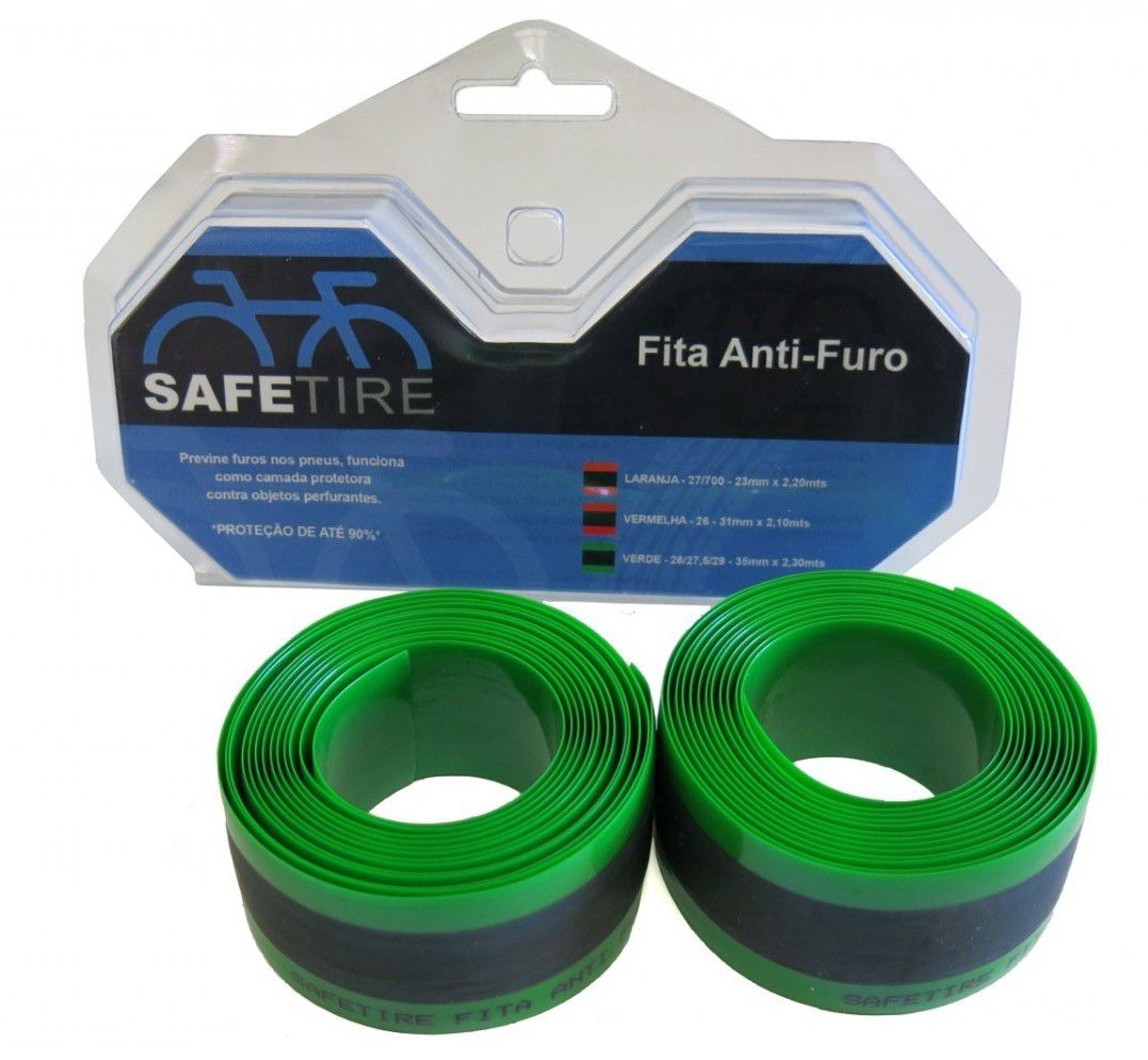 Fita Anti Furo Pneu Safetire  Aro 26/27,5/29 - 35 mm Par