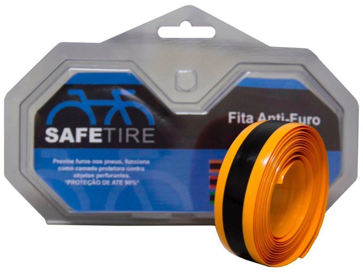 Fita Anti Furo Pneu Speed 700 Safetire 23mm - Par