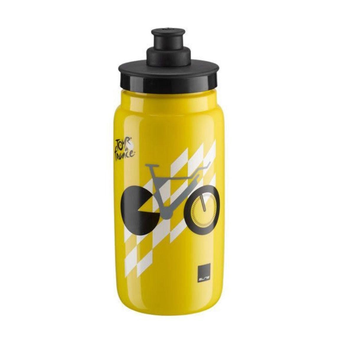 Garrafa Caramanhola Elite Tour de France 550ml - Amarela