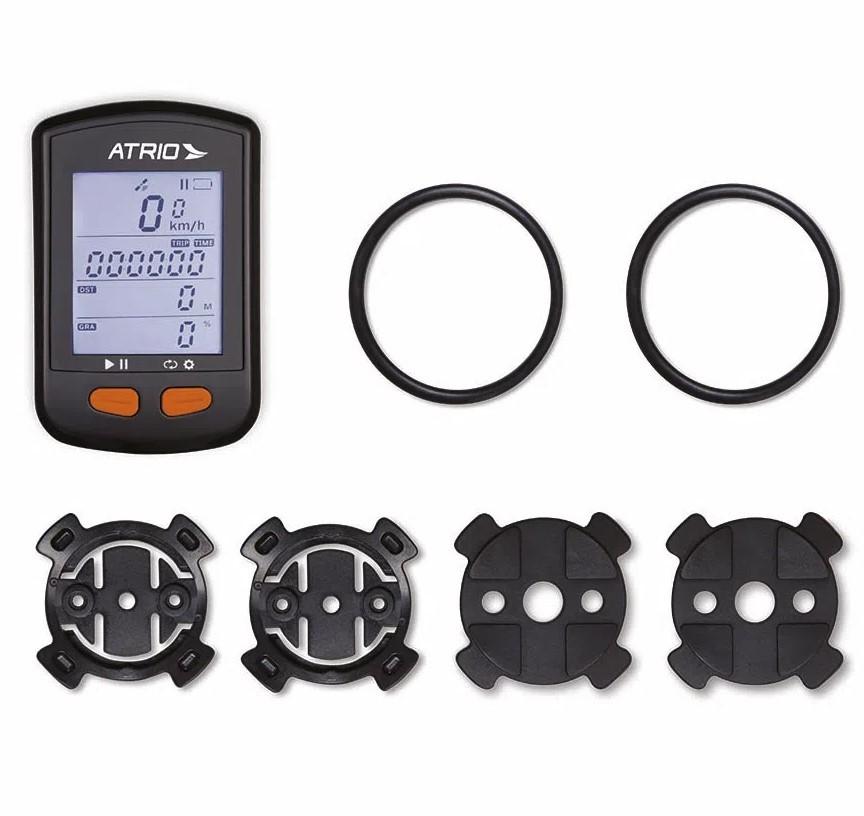 Gps Novo Atrio Steel Bi 132 Bluetooth Cadência Cardíaco