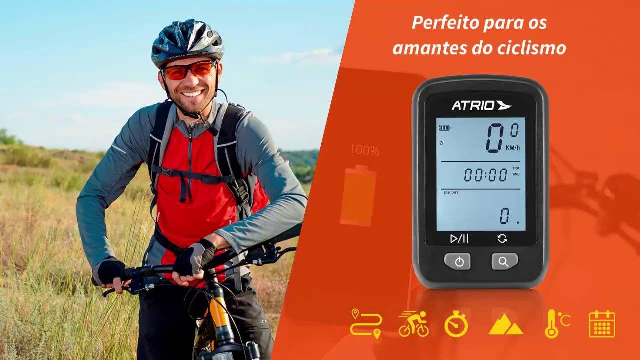 Gps Para Ciclismo Atrio Iron Bi091 Mais Sup. Avançado Sram MTB