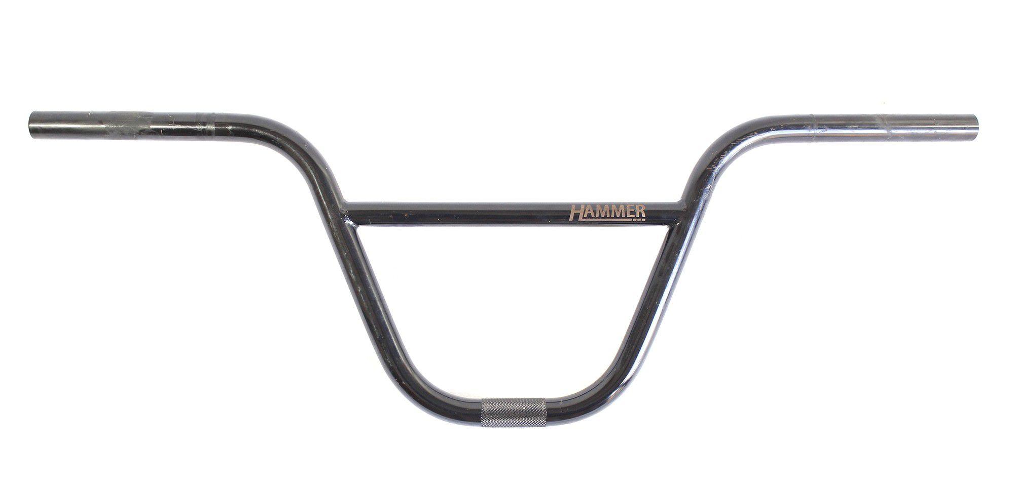 Guidão Hammer Cromo 8.75 para BMX