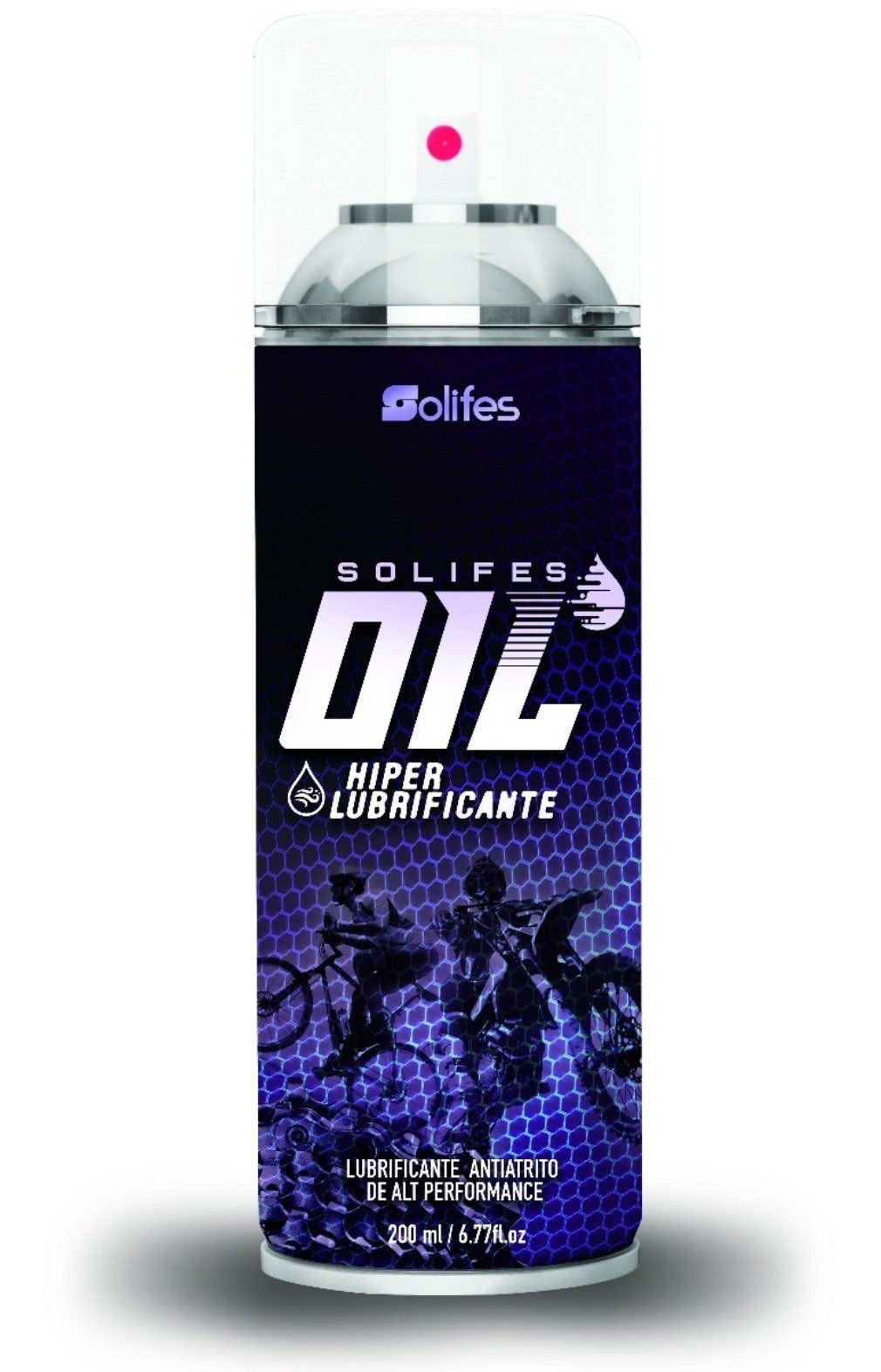 Hiper Lubrificante Solifes Oil Spray 200ml