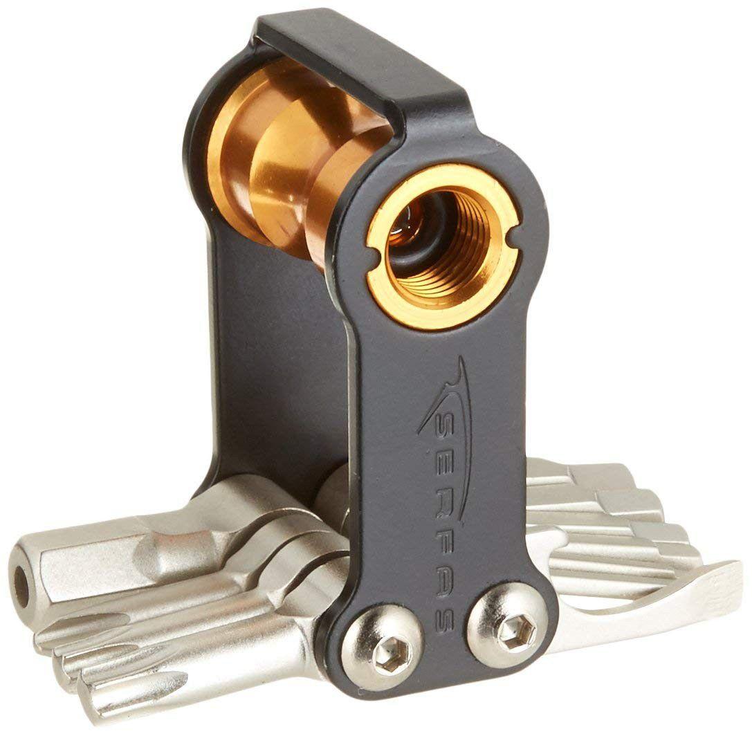 Kit Chaves Mini Tool Serfas St-13i Co2 Inflator Ferramenta Bike