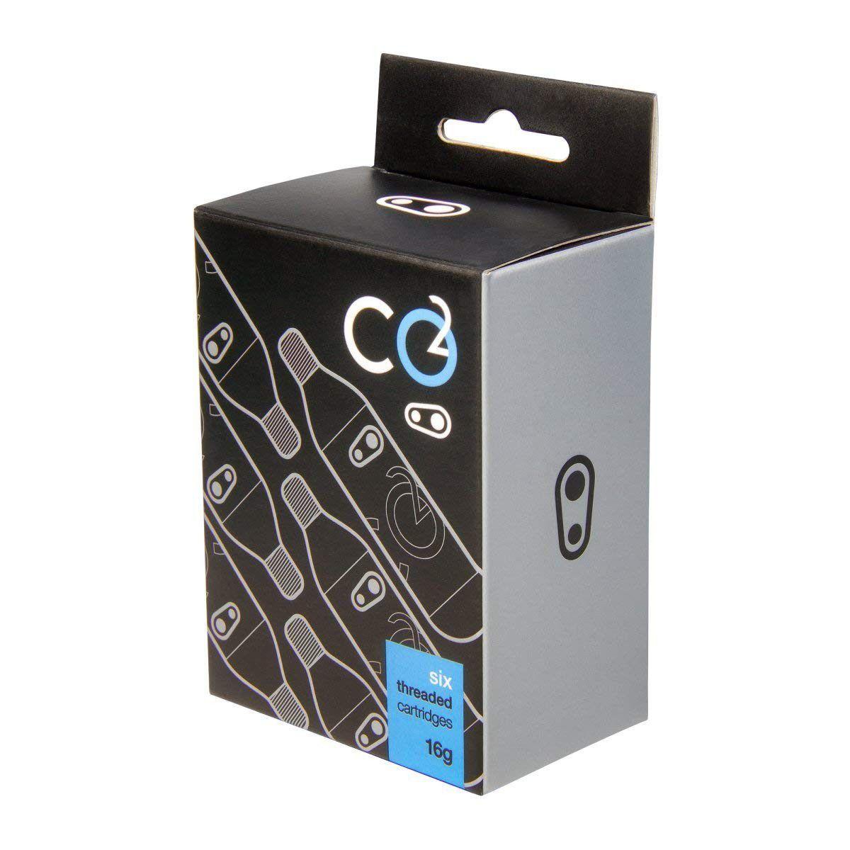 Kit Cilindro de CO2 para pneus de bicicleta com 6 Cartuchos Crank Brothers