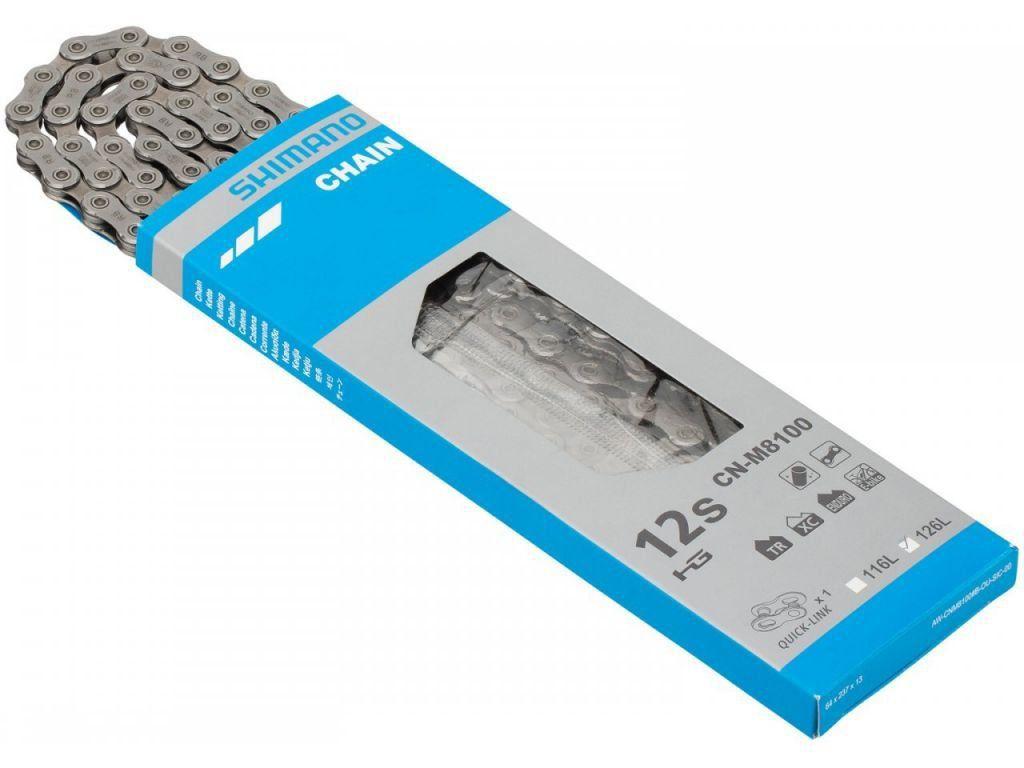 Cassete Shimano Deore XT 12V CS-M8100 10-51T + Corrente XT 12V