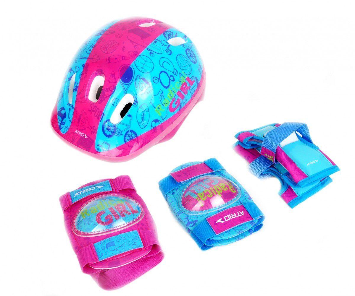 Kit De Proteção Infantil Feminino Atrio