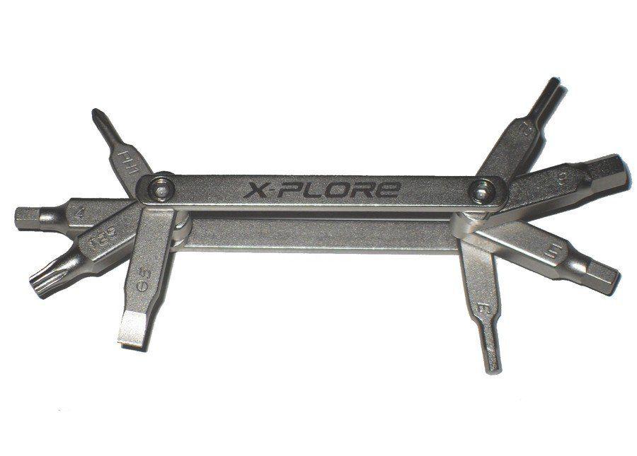 Kit Ferramenta Para Bicicleta X-Plore FF-01 - 8 Funções