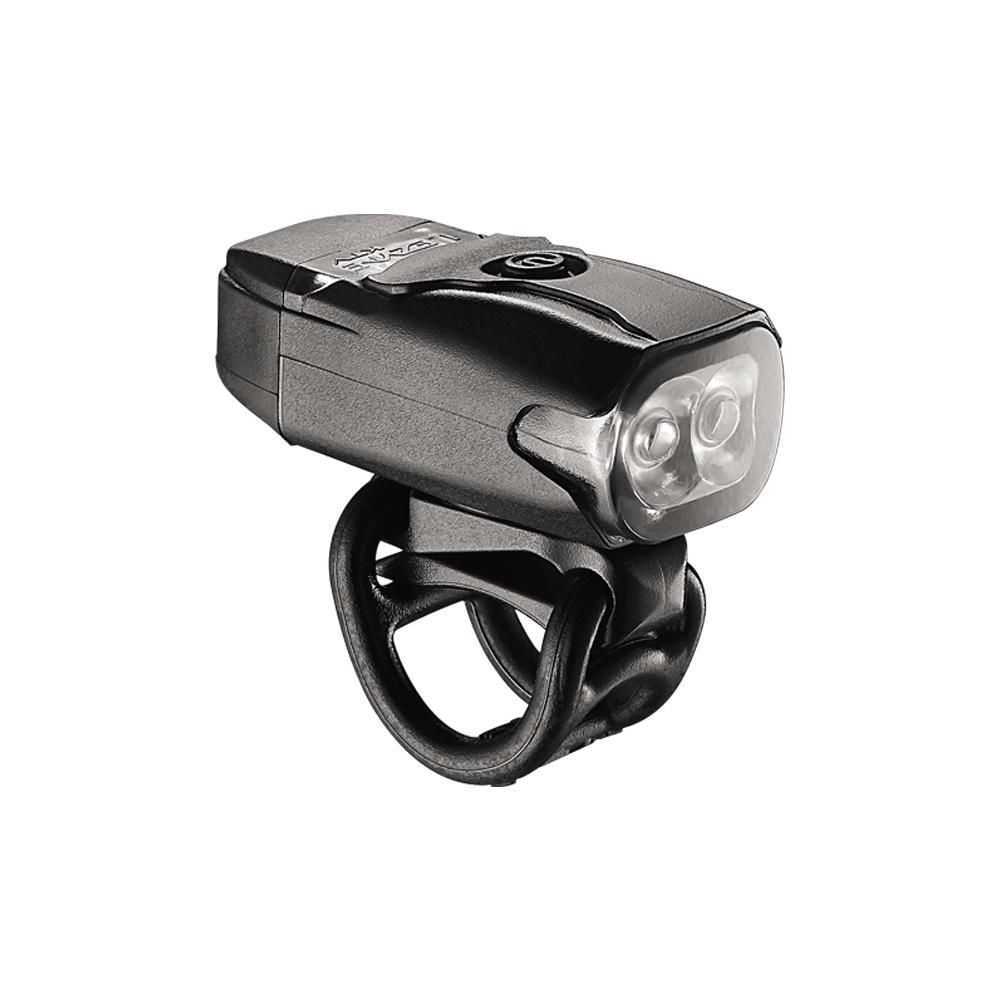 Kit Iluminação Bike Farol Lezyne KTV Drive Front 180 lm + Sinalizador 10lm