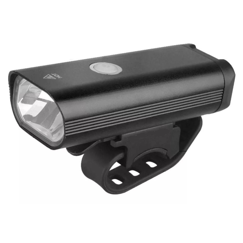 Lanterna Farol para Bicicleta 400 Lumens - Recarregável Bateria Interna