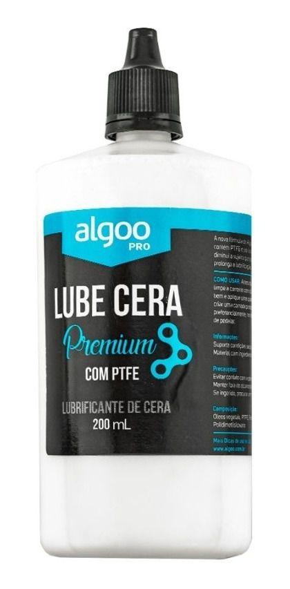Lubrificante de Cera Corrente Algoo Lube Cera Premium - 200 ml
