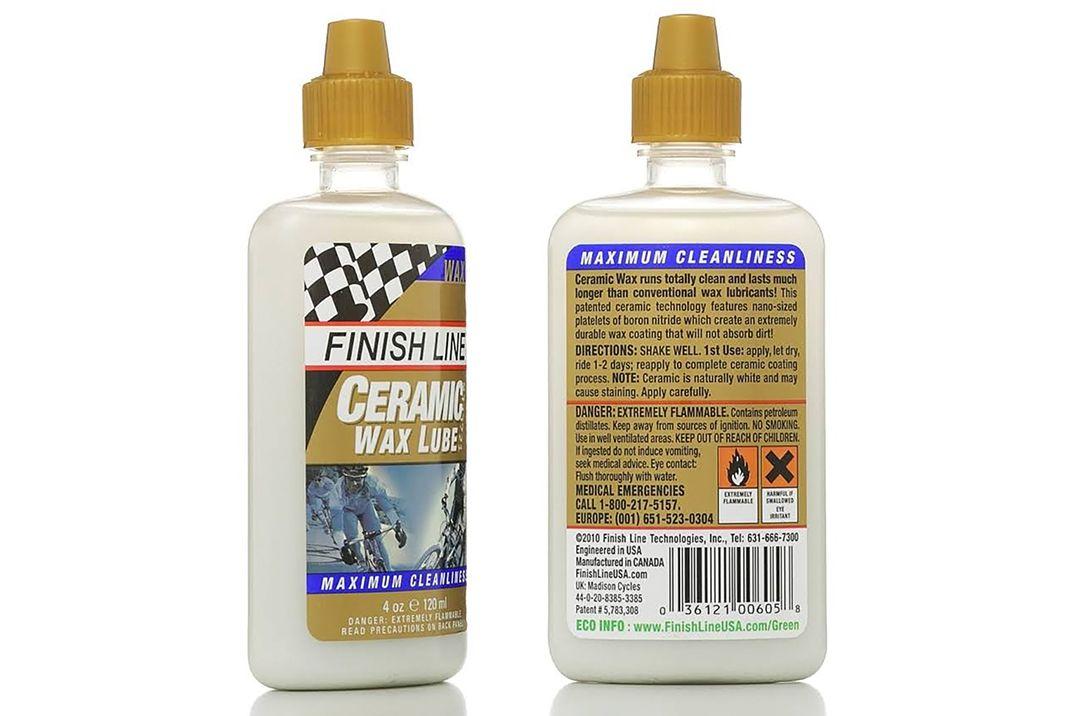 Lubrificante Para Corrente Finish Line Ceramic Wax Seco - 120ml